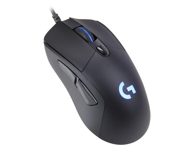 Logitech G403 HERO 16K Gaming Mouse, LIGHTSYNC RGB, Lightweight 87g +10g  Optional Weight, Braided Cable, 16,000 dpi, Rubber Side Grips - Newegg com