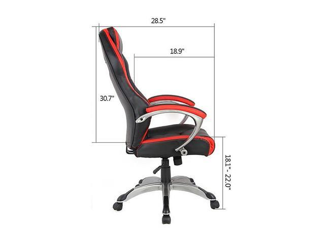Prime Inland 05165A Racing Style High Back Ergonomic Gaming Chair Andrewgaddart Wooden Chair Designs For Living Room Andrewgaddartcom