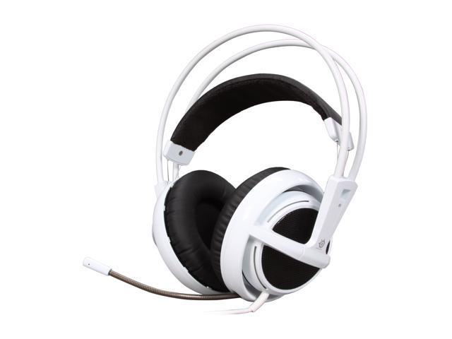 a77cb8fc6d3 SteelSeries Siberia v2 3.5mm Connector Circumaural Full-size Headset - White