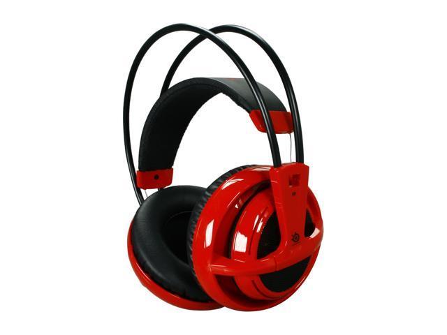 SteelSeries Siberia V2 Circumaural Full-size Headset - Red - Newegg com
