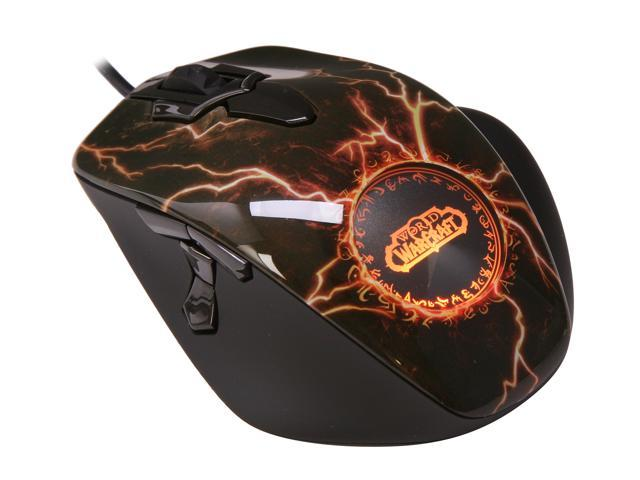 SteelSeries World of Warcraft MMO Legendary Edition Mouse - Newegg com