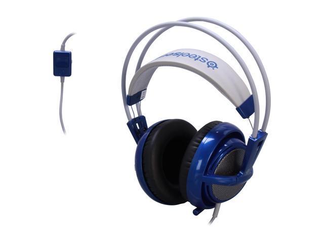 SteelSeries Siberia V2 Circumaural Full-Size Gaming Headset - Blue -  Newegg com