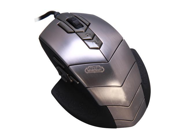 SteelSeries World of Warcraft MMO 62006-BP 15 Buttons USB Wired 3200 dpi  Gaming Mouse - Newegg com