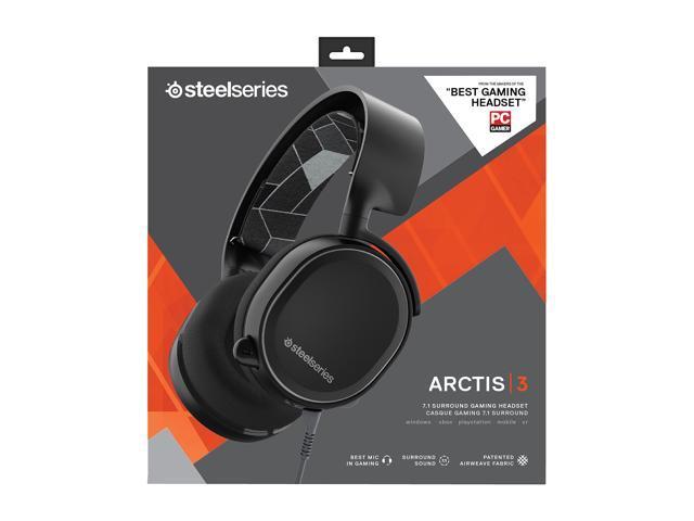 Steelseries Arctis 3 Headset - Black - Newegg com