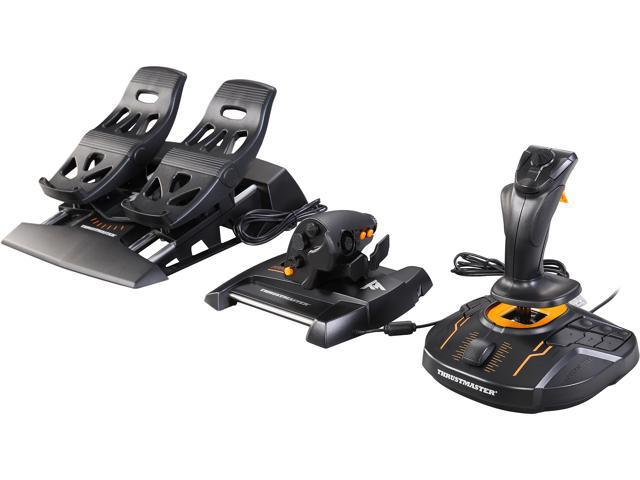 Thrustmaster T 16000M FCS Flight Pack: Joystick, Throttle and Rudder Pedals  for PC - Newegg com