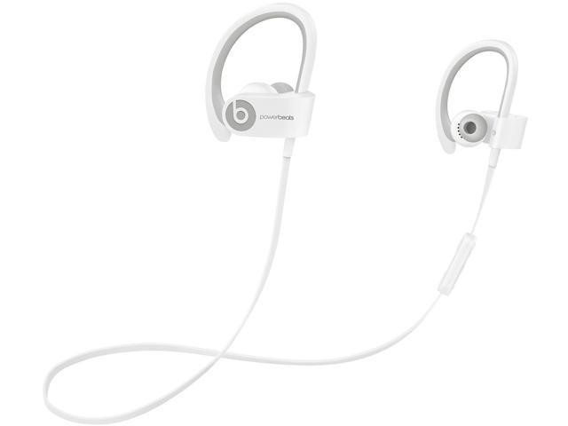 d0d3c4305f9 Beats by Dr. Dre White MHBG2AM/A Powerbeats 2 Wireless In-Ear Headphone