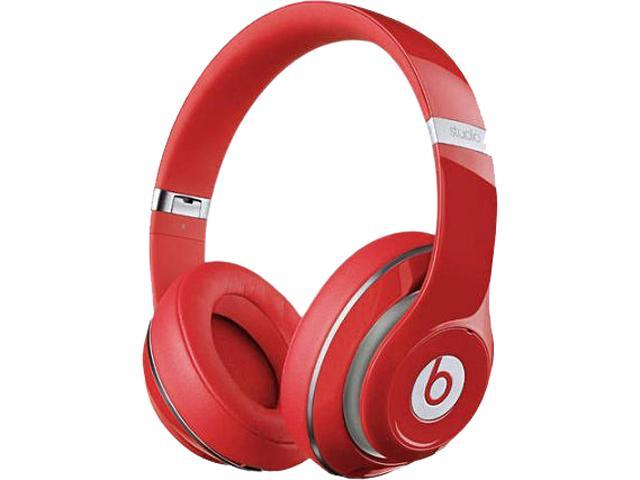 Refurbished Beats By Dr Dre Red Studio2wiredr Studio 2 Wired Headphones Newegg Com