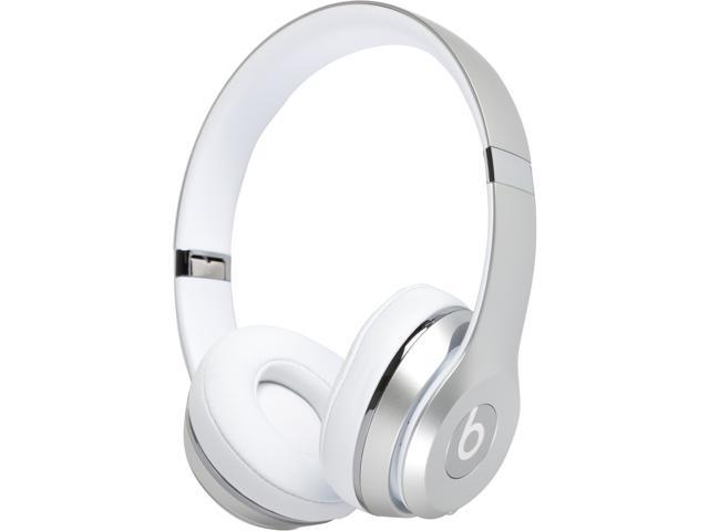 Beats by Dr. Dre - Beats Solo3 Wireless Headphones - Silver ... 41117ba42