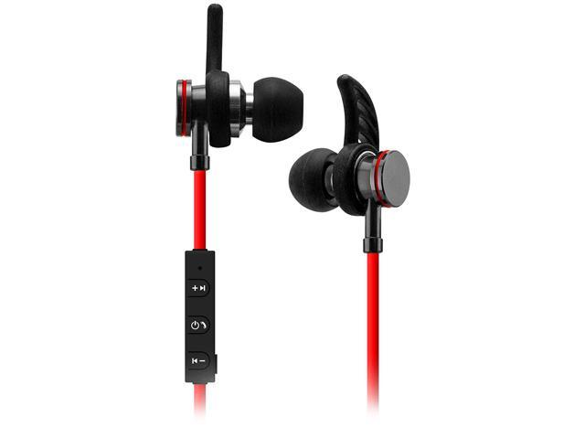 240517ac7cd Sentry Red BT250 Bluetooth Wireless Rechargeable Stereo Buds with In-line  Mic