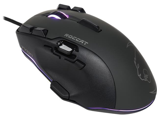 1bc4ab400bd ROCCAT Tyon ROC-11-850 Black 14 Buttons 1 x Wheel USB 2.0 Wired Laser 8200  dpi Gaming Mouse
