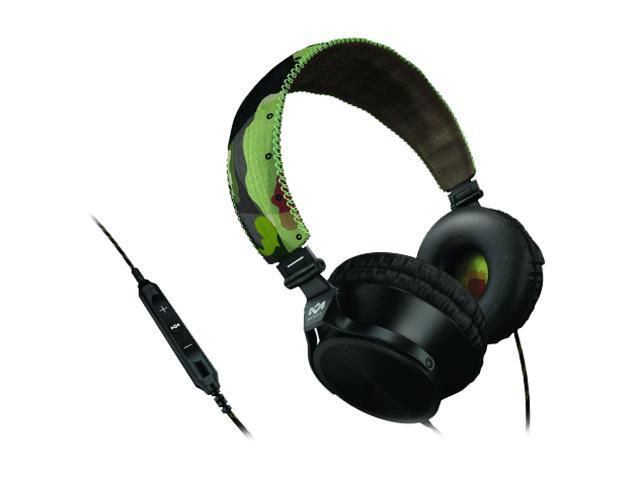 House of Marley EM-JH023-RV 3 5mm Connector On-Ear Revolution Headphone w/  Mic & 3-Button Controller - Revolution - Newegg com