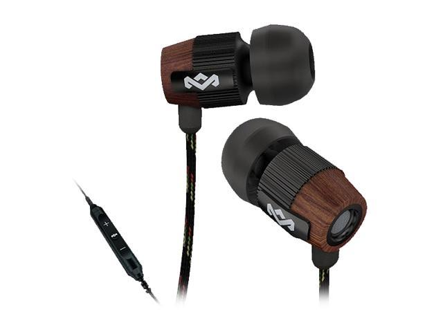House of Marley EM-FE003-MI 3 5mm Connector In-Ear Redemption Song  Headphones (Midnight) w/ Mic & 3-Button Controller - Newegg com