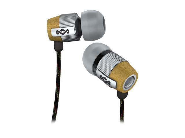 House of Marley EM-FE003-SM 3 5mm Connector In-Ear Redemption Song  Headphones (Mist) w/ Mic & 3-Button Controller - Newegg com