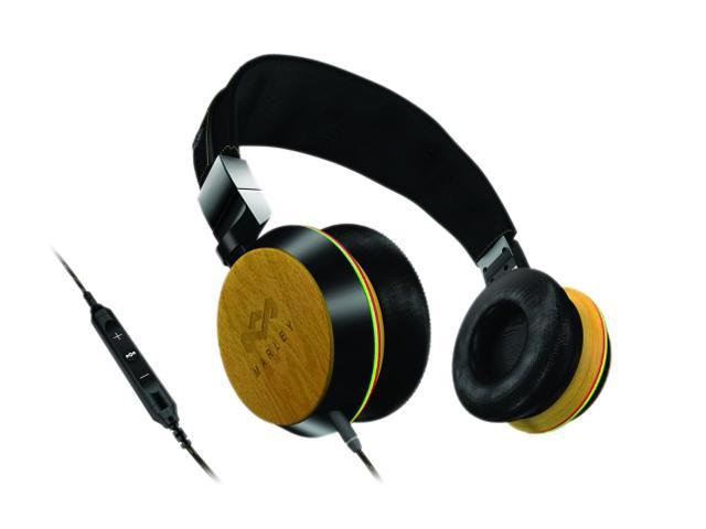 House of Marley Bamboo EM-FH013-HA 3 5mm/ 6 3mm Connector On-Ear Stir It Up  Headphone w/ Mic & 3-Button Controller - Newegg com