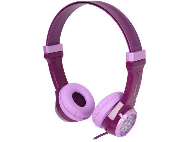 59d9624e04e JLab JBuddies Kids Volume Limiting Headphones - Purple - JK-PURPLE-RTL