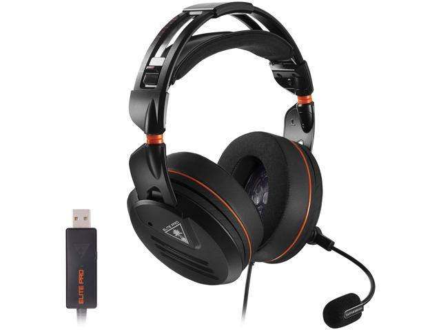 Turtle Beach Elite Pro Professional Surround Sound Gaming Headset Pc Edition Pc Ps4 Ps4 Pro Xbox One And Mobile Gaming Newegg Com