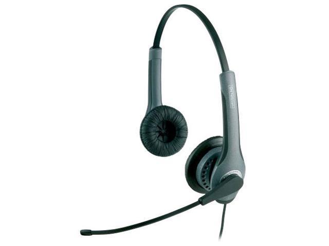 Jabra Gn2000 Usb Connector Supra Aural Noise Canceling Usb Binaural Headset Newegg Com