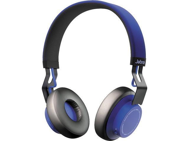 Jabra Move Blue 100 96300001 02 Circumaural Bluetooth Headset Newegg Com