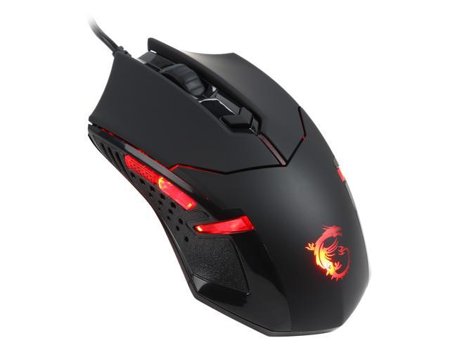 Black Msi DS B1 Rat/ón
