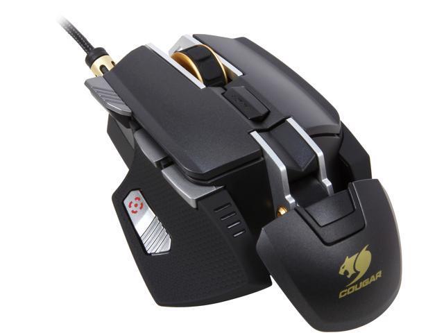 0fbbaf72c8f COUGAR 700M Aluminum Pro Gaming Mouse - Black - Newegg.com