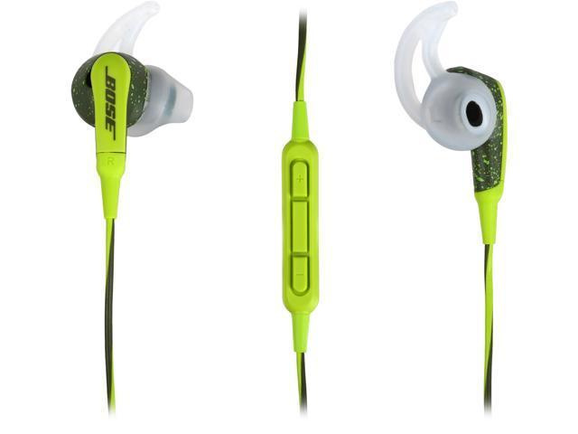bose soundsport in ear headphones energy green ios devices. Black Bedroom Furniture Sets. Home Design Ideas