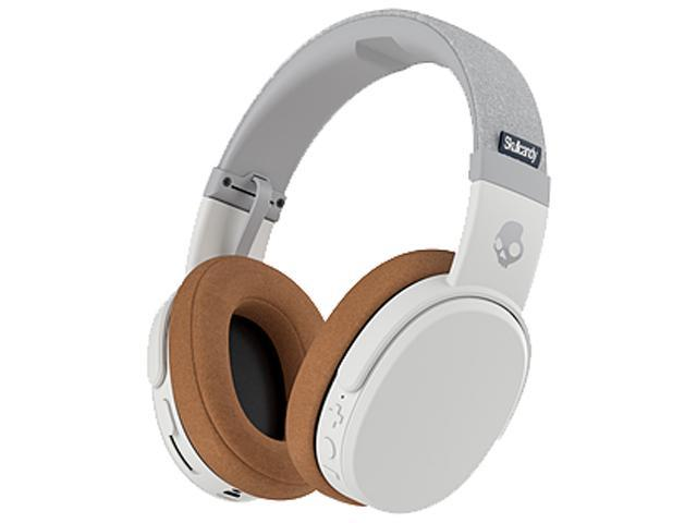 45368709dabac2 Skullcandy Crusher Bluetooth Wireless Over-Ear Headphone with Microphone  (Gray/Tan)