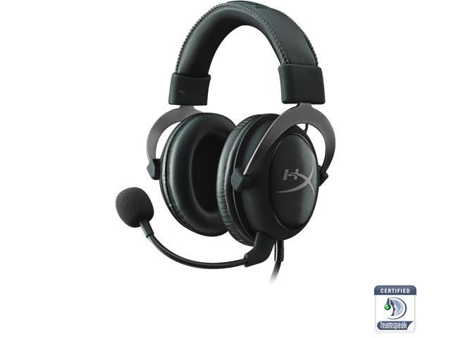 HyperX Cloud II Gaming Headset with 7 1 Virtual Surround Sound for PC / PS4  / Mac / Mobile - Gun Metal - Newegg com