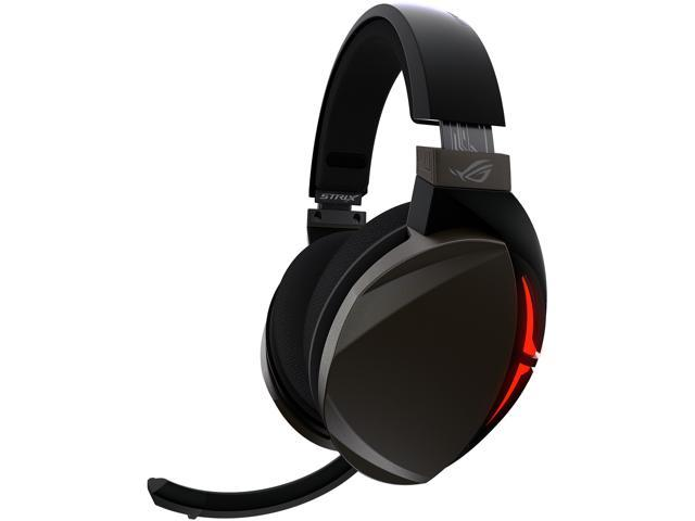 Asus Rog Strix Fusion 300 Virtual 7 1 Led Gaming Headset With Microphone For Pc Mobile Console Newegg Com