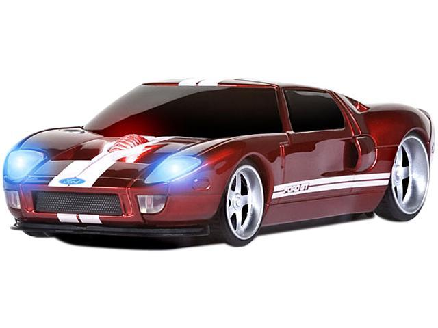 Road Mice Ford Gt Hp Fdgrxw Red White  X Wheel Usb Rf Wireless Optical  Dpi Mouse