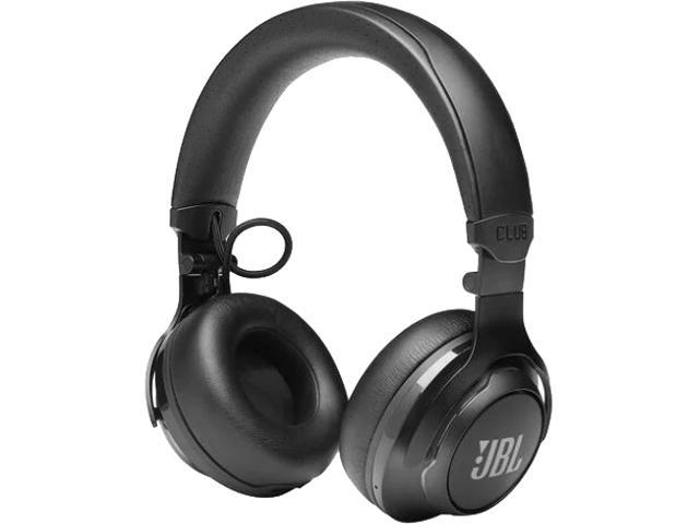 On-ear headphones JBL CLUB 700 in black wired and wireless with bluetooth capabilities with mic