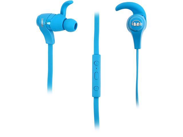 ded94eae623 Monster iSport Bluetooth Wireless In-Ear Headphones (Blue ...