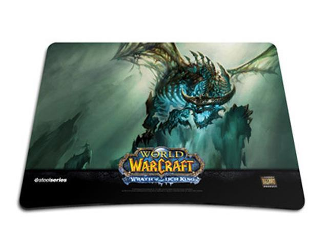 steelseries World of Warcraft (WOW) : Limited Edition- Wrath of the Lich  King 5C Mouse Pad - Newegg com