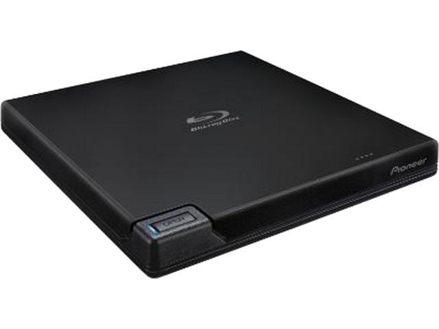 Pioneer USB 3.0 Slim Portable BD/DVD/CD Burner Model BDR-XD07UHD