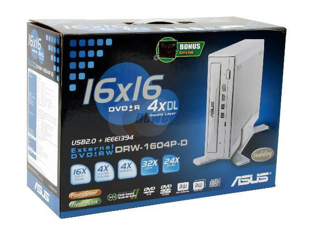 ASUS DRW-1604P DRIVERS FOR WINDOWS VISTA