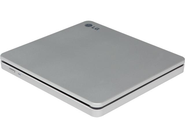 LG Ultra Slim Slot Load External DVDRW With Mac & Surface Compatible Model GP70NS50