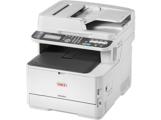 Oki Data MC363dn (62447601) Duplex USB / Ethernet Multifunction Color Laser  Printer - Newegg com