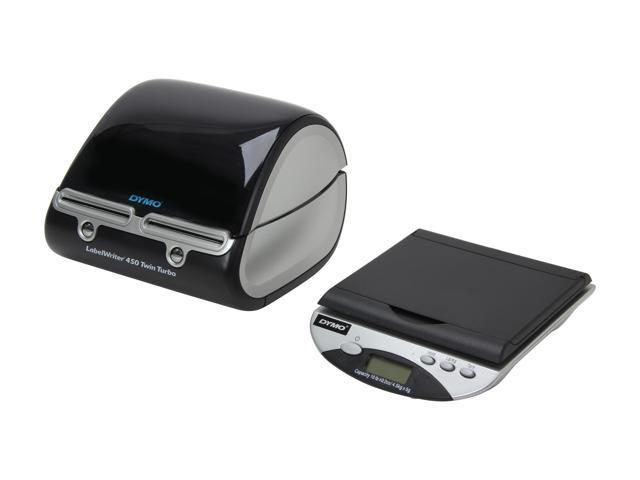 DYMO LabelWriter 450 Twin Turbo (1757660) Mailing Solution LabelWriter &  Scale - Newegg com