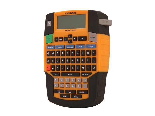 DYMO 1801611 RHINO 4200 Facility, Security, Pro A/V Label Maker - Newegg com