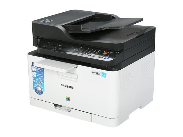 Used - Like New: Samsung Xpress SL-C480FW Wireless Multifunction Color  Laser Printer - Newegg com