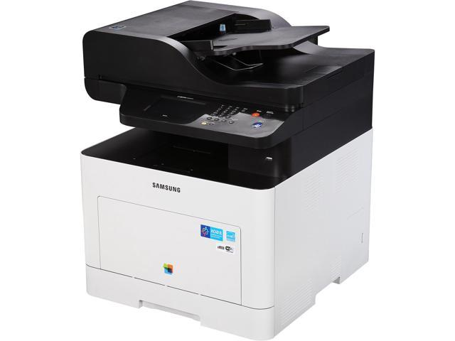 samsung sl-c3060fw auto-duplex wireless multifunction color laser printer