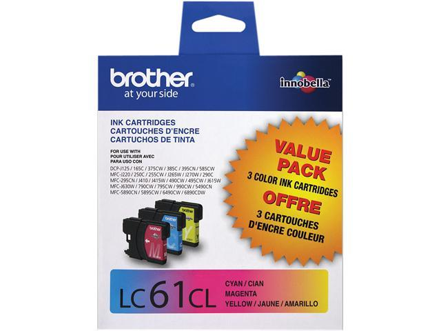 Brother LC613PKS Innobella Ink Cartridge - Combo Pack - Cyan/Magenta/Yellow