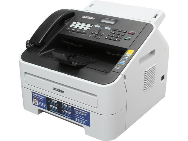Brother IntelliFax-2840 High-Speed Laser Fax - Newegg com