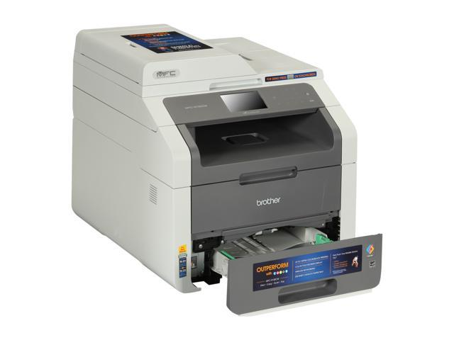 Brother MFC-9130CW Digital Color All-In-One Laser Printer