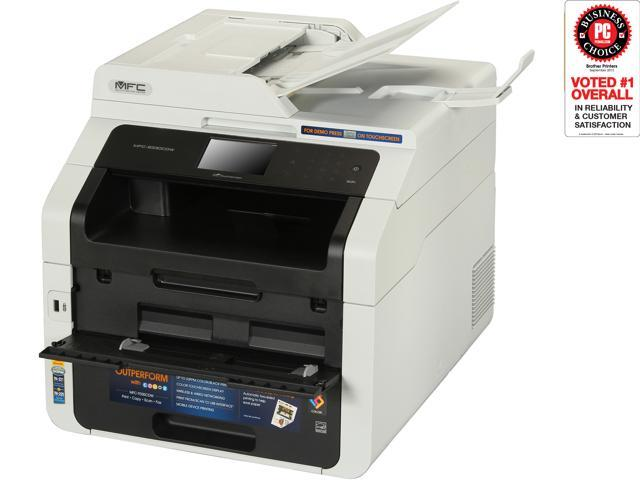 Brother MFC 9330CDW Duplex Wireless USB Color All In One Laser Printer
