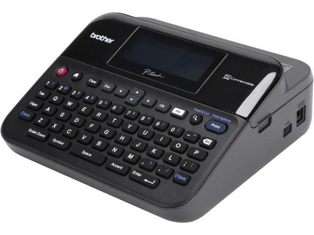Brother P-Touch PT-D600VP PC-Connectable Label Maker - Newegg com -  Newegg com