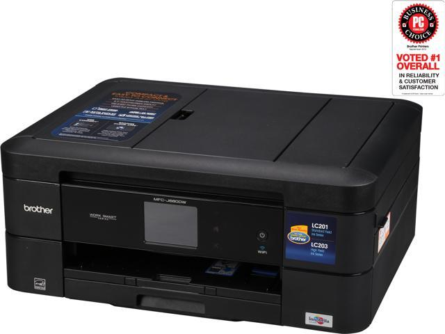 Brother Mfc J680dw Duplex Wirelessusb All In One Color Inkjet