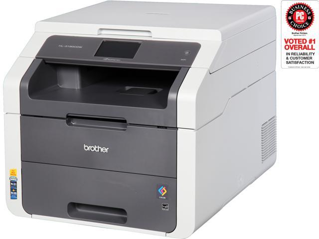 Brother HL-3180CDW Duplex Wireless / USB Color Laser Printer with  Convenience Copying and Scanning - Newegg com