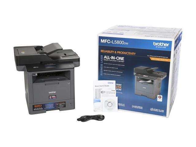 Brother MFC-L5800DW Wireless Printer - newegg com - Newegg com