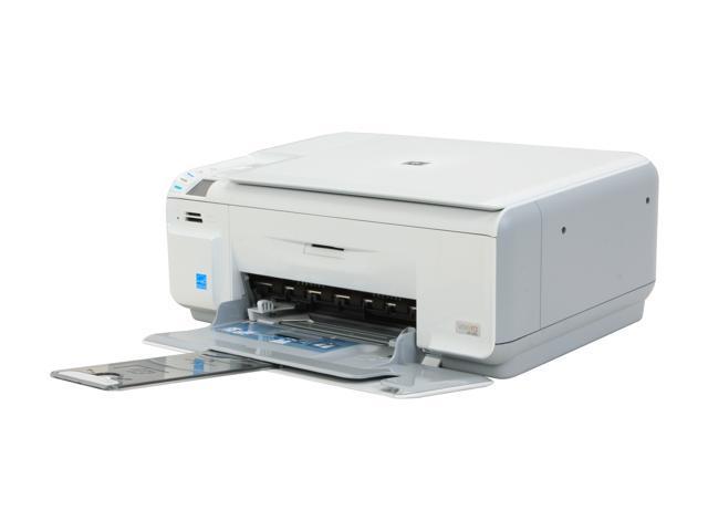 hp photosmart c4480 q8388a up to 30 ppm black print speed 4800 x rh newegg com HP Photosmart C4480 Review HP C4480