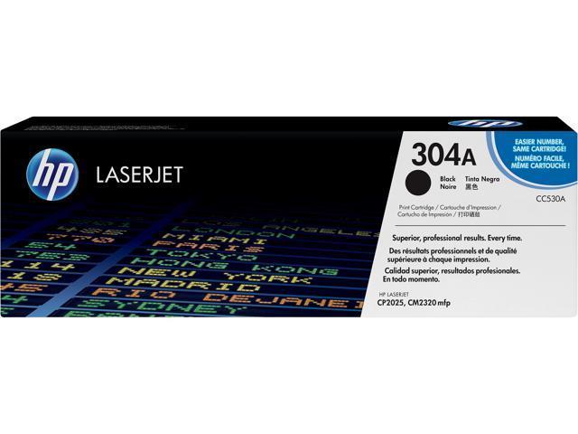 Genuine HP 304A CC530A Black Print Cartridge for CP2025 CM2320 mfp-NEW SEALED